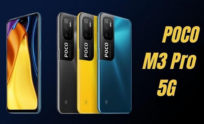 Xiaomi poco m3 pro 5g cấu hình giá bán
