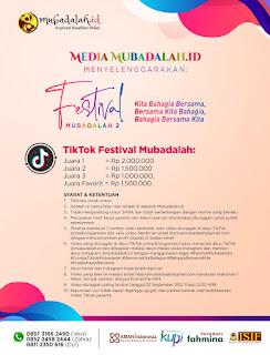 Lomba TikTok Edukasi 2021 dalam Rangka Festival Mubadalah Kedua
