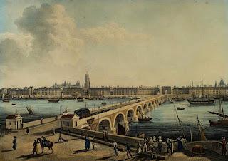 Louis Garneray (1783-1857) - Vue de Bordeaux - Musée d'Aquitaine, Bordeaux.