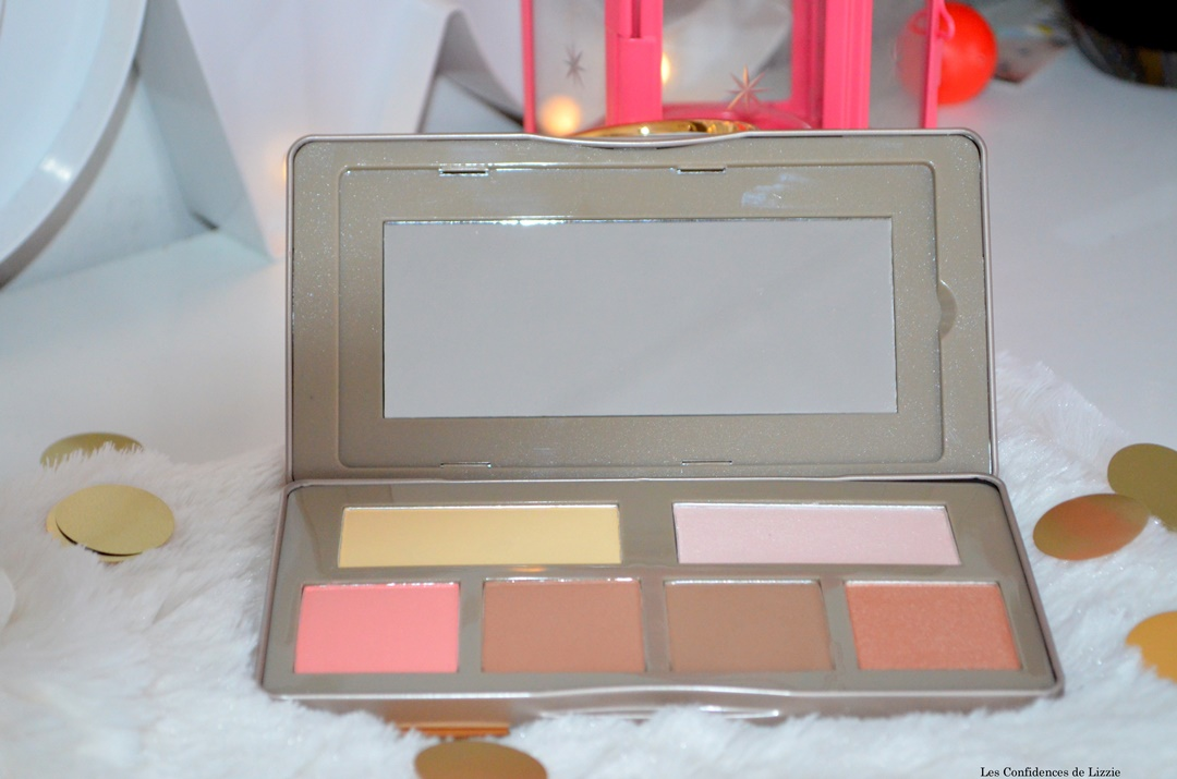 bh cosmetics - nude rose sculpt and glow - palette maquillage - palette conturing