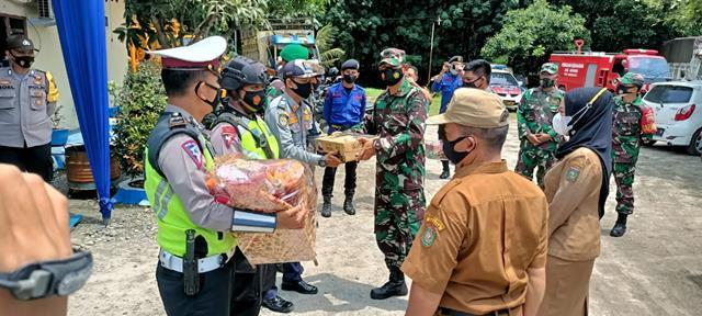 Danramil 06/Kisaran Kodim 0208/Asahan Turut Serta Laksanakan Ops Yustisi Pos Pam Idul Fitri 1442 H Toba Tahun 2021
