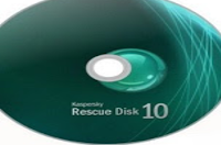 افضل اسطوانة حذف الفيروسات والانفاد المجانية Kaspersky Rescue Disk