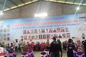 Gubernur DKI Jakarta Anies Baswedan Hadiri Gebyar Vaksinasi Massal Forum RT-RW Kelurahan Tugu Selatan