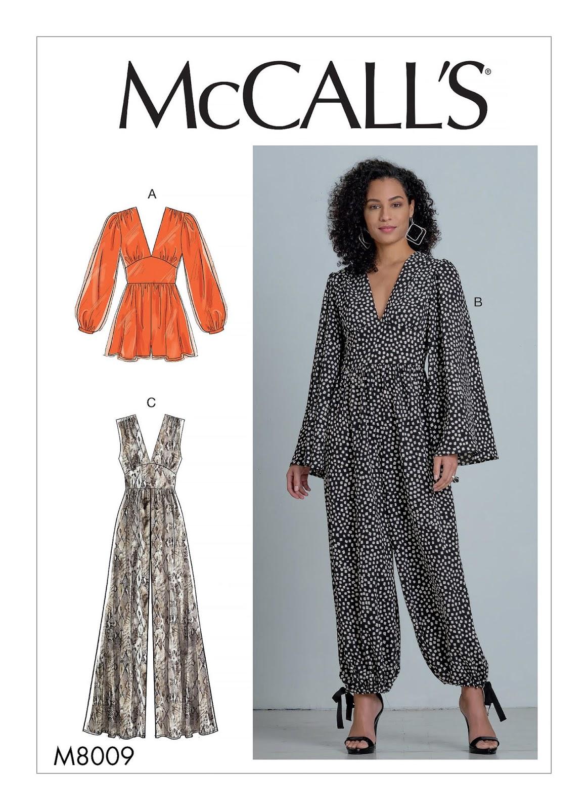 McCall Pattern #M8009
