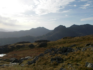 walking route in snowdonia - glyder fawr