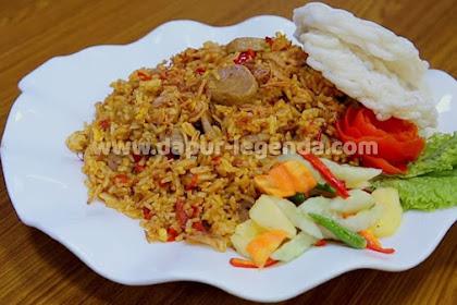Resep dan Cara Membuat Nasi Goreng Bumbu Rawon