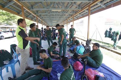 Naib Johan Kawad Kaki KRS 2018 Daerah Kubang Pasu