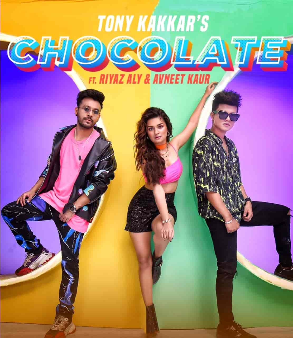 Chocolate Hindi Song Image Features Avneet Kaur and Riyaz Aly