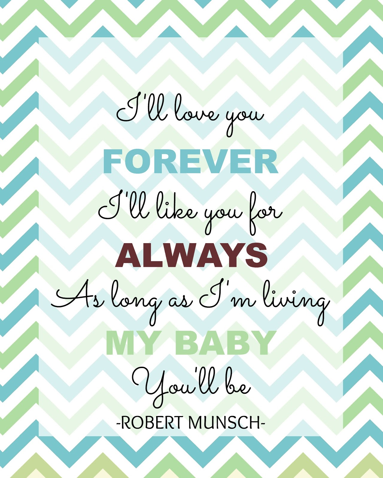 |I Love You Forever Book Quotes
