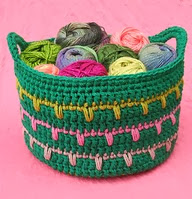 http://www.ravelry.com/patterns/library/spikes-yarn-basket