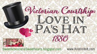 Kristin Holt | Victorian Courtship: Love in Pa's Hat, 1880