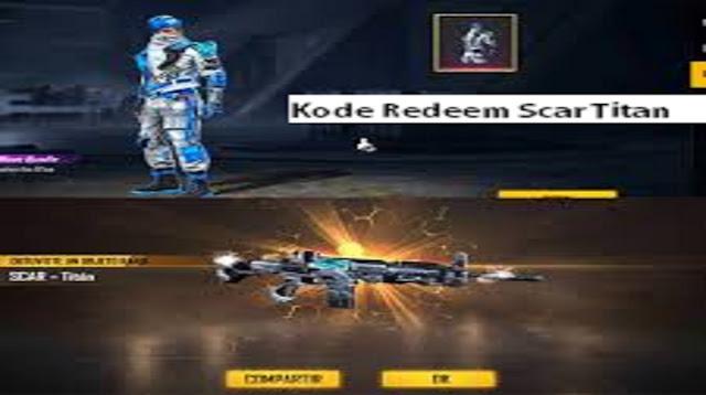 Kode Redeem Scar Titan