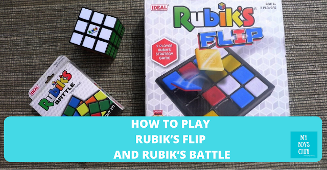 How to play Rubik's Flip and Rubik's Battle