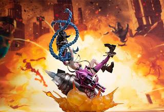 League of Legends – Jinx, Myethos