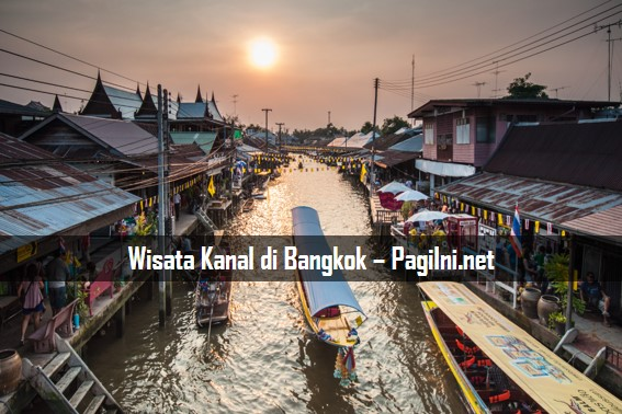 Wisata Kanal di Bangkok