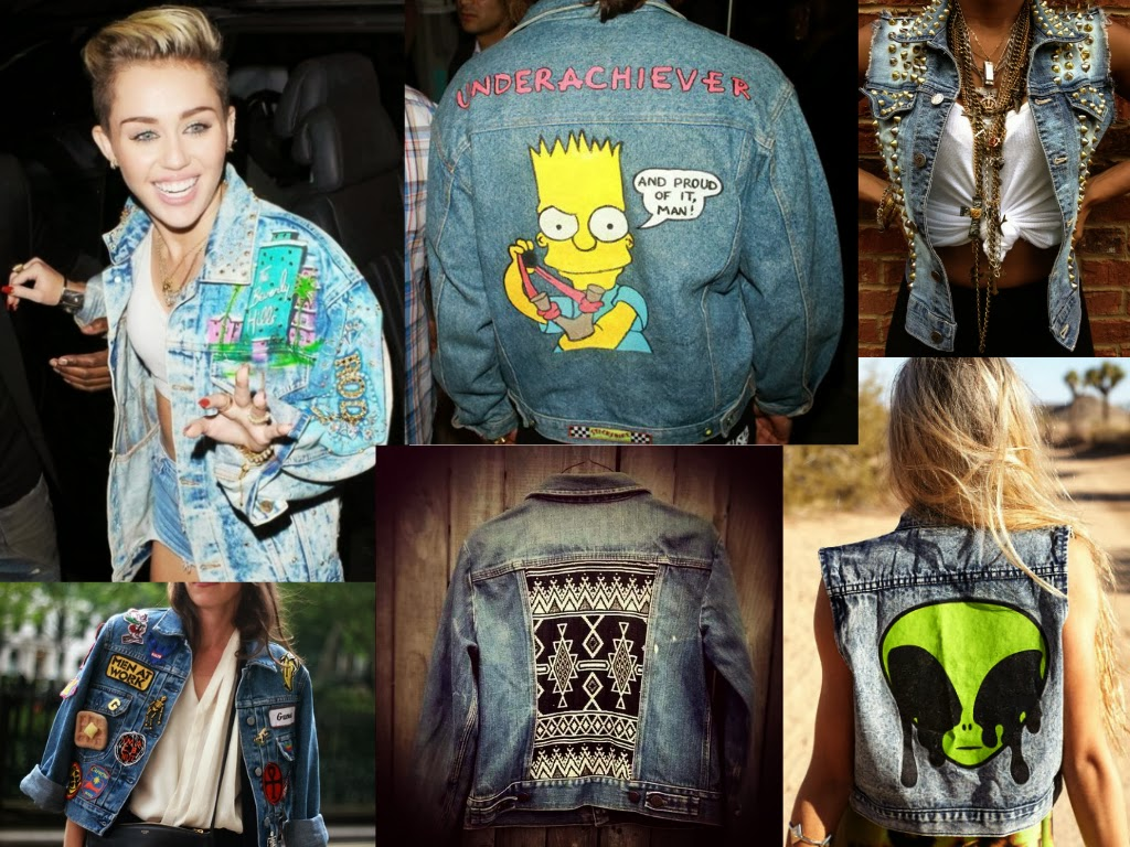 The Bloggers Customize A Denim Jacket