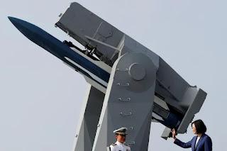 Mỹ lên án các hoạt động 'khiêu khích' của Trung Quốc gần Đài Loan
