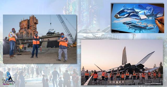 Quinjet, Disney Parks Marvel-themed, Spider-Man, Marvel Studios, D23, Disneyland California Avengers Campus