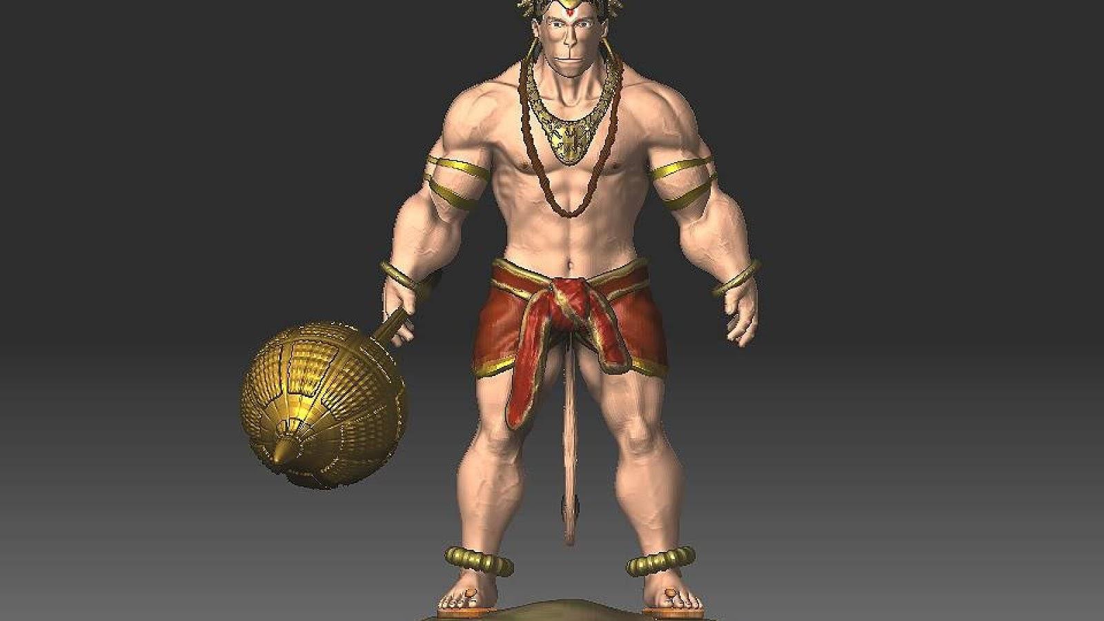 Desktop Wallpaper Hd 3d Full Screen God Ganesh God Hanuman Wallpapers Webntime