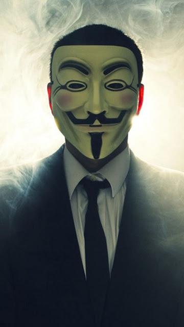 Tải Hình nền Hacker Anonymous cực chất cho điện thoại