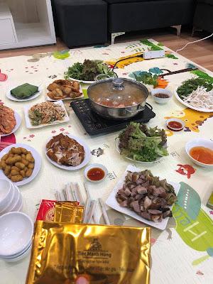 Dịch vụ nấu cỗ tại nhà Nam Từ Liêm