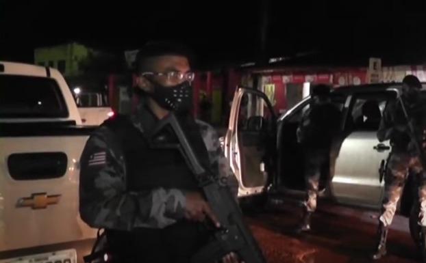 Mais de 50 policiais vindos da capital atuam contra a criminalidade em Bacabal