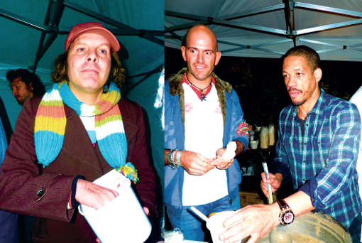 Philippe Katerine Joey Starr Le Fooding