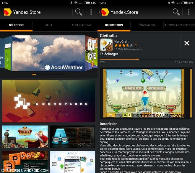 Yandex Store App