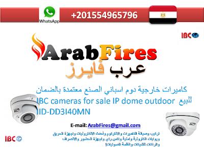 كاميرات خارجية دوم اسباني الصنع معتمدة بالضمان للبيع IBC cameras for sale IP dome outdoor IID-DD3I40MN