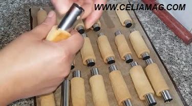 مطبخ ام وليد|حلويات العيد حلوة السيغار بالشوكولا بحشو الكرامل