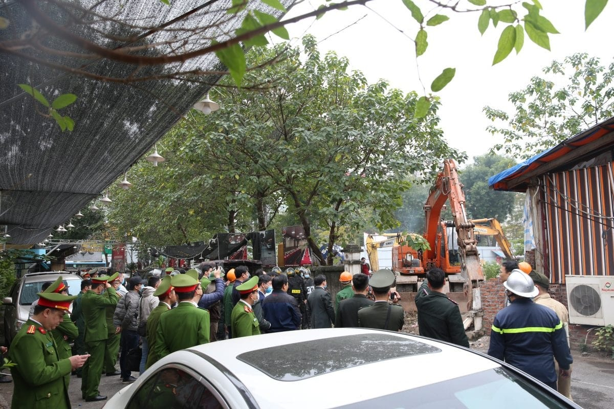 Chung cư Hà Nội Orchard Park đang được GPMB.