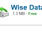 Wise Data Recovery 2017 Download For Windows