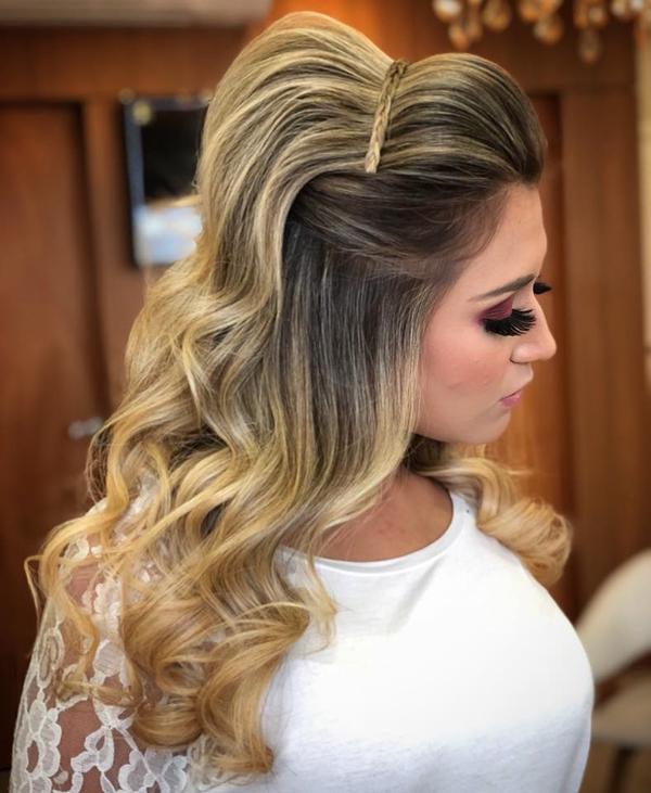 penteado formatura