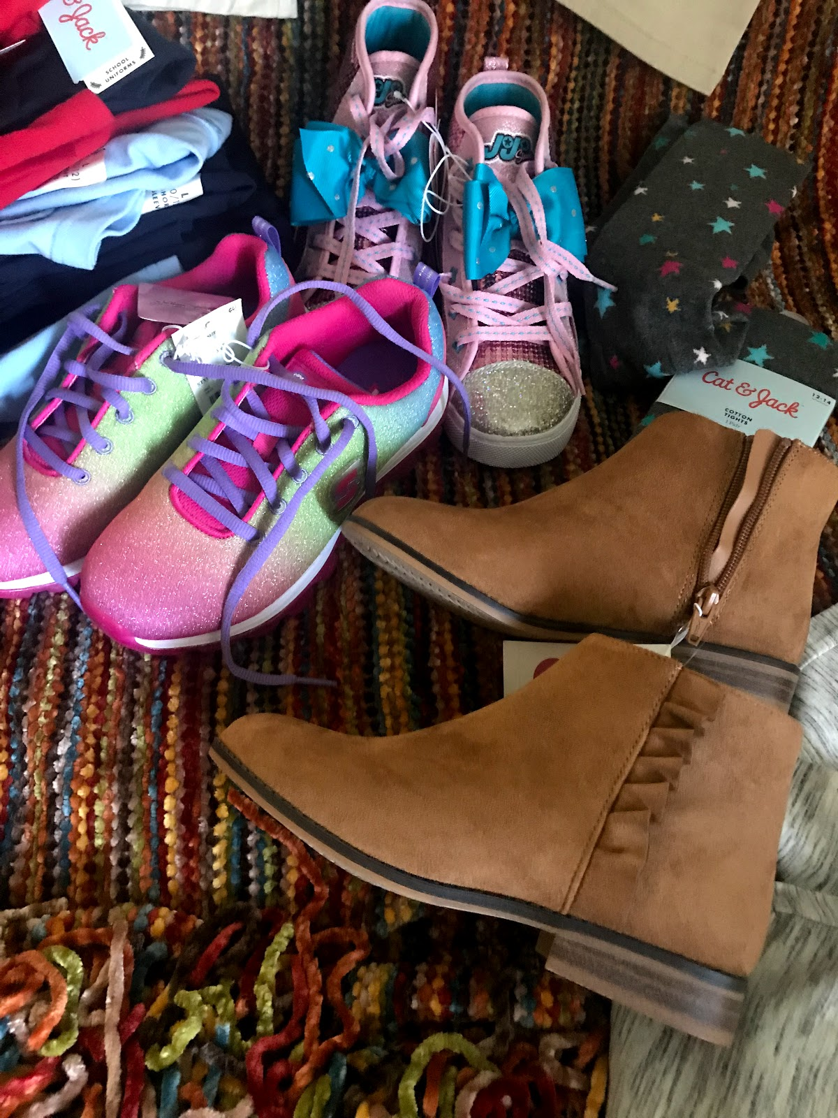 Image: More boot and tennis bought by Tangie Bell from Target. Seen first on Bits and Babbles Blog