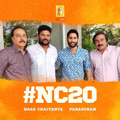 Nagachaitanya NC20 to be directed by Parasuram