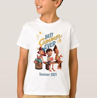 Disney Luca Birthday shirt