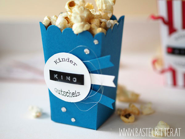 Popcorn Box Thinlits Stampin' up! Bastelritter