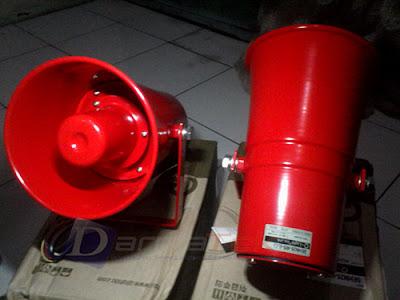 Jual Sirine 115db - Q Light SEHN25-WS 220V Suara Nyaring