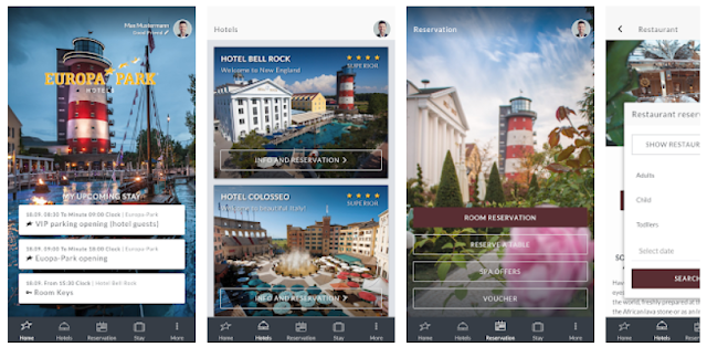 Europa-Park Hotels Mobile App- YouthApps