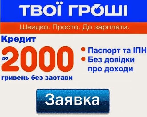 Микрокредит онлайн за 5 минут онлайн украина