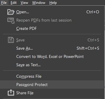 Cara Mengunci dan Membuka PDF File