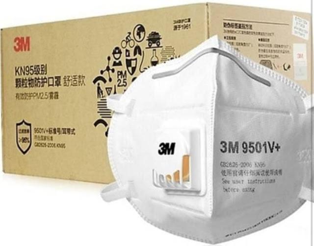 Jenis masker yang sering dipakai saat pandemi virus corona