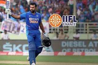 Rohit Sharma becomes brand ambassador of IIFL Finance