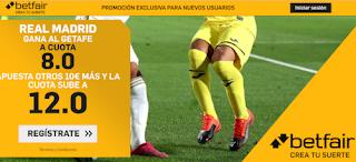 betfair supercuota liga Real Madrid gana Getafe 2 julio 2020