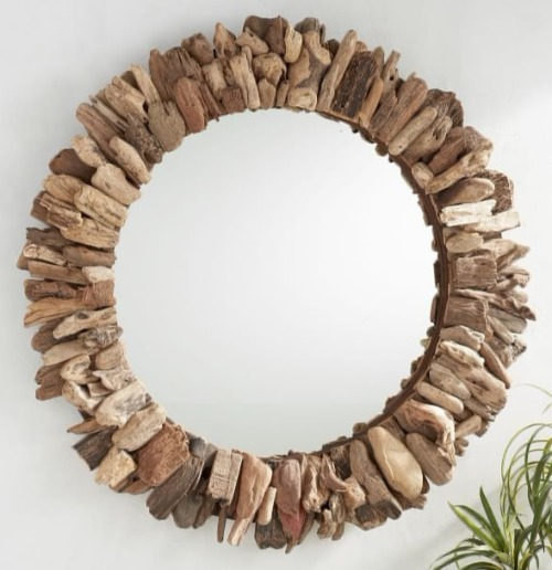 Driftwood Mirrors from Pottery Barn
