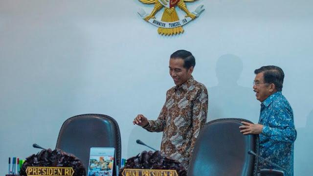 Jokowi: Penanganan Gempa Palu Dikomandani Wakil Presiden