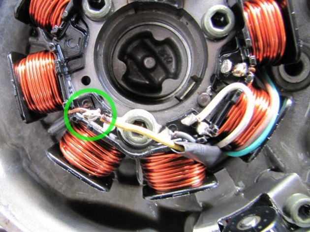Coil Wirering Diagrame For Kawasaki
