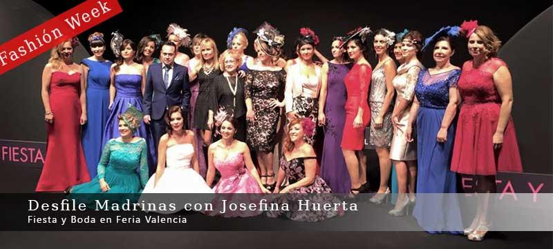 Desfile Madrinas Fashión Week con Josefina Huerta