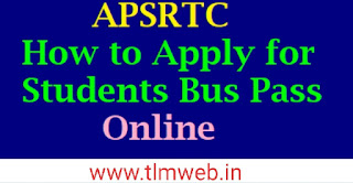 APSRTC - How to apply for Students bus pass Online Sucessfully