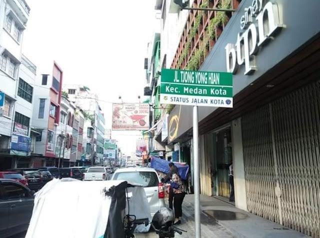 Jalan Bogor Medan